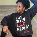 Eat. Sleep. L.O.C. Repeat Sweatshirt
